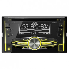 RADIO CD PLAYER AUTO 4X50W 2DIN MP3 USB JVC - CD Player MP3 auto