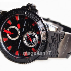 Maxi Marine Diver Black Sea Automatic ! ! ! Calitate Premium ! - Ceas barbatesc, Lux - elegant, Mecanic-Automatic, Otel, Cauciuc, Data