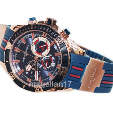 Maxi Marine Diver Hammerhead Shark Blue ! ! ! Calitate Premium ! - Ceas barbatesc, Lux - elegant, Quartz, Inox, Cauciuc, Cronograf