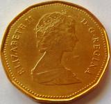Moneda 1 Dolar - CANADA, anul 1989  *cod 4296