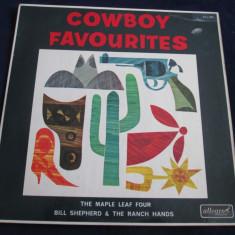 The Maple Leaf Four - Cowboy Favourites _ vinyl, LP, Allegro (UK) - Muzica Country Altele, VINIL