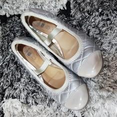 Pantofi piele 36 clarks - Balerini dama Clarks, Culoare: Gri, Marime: 36 2/3