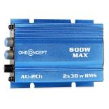 ONECONCEPT A2BLUE, amplificator de mașină, 500 W - Amplificator auto