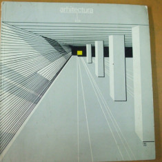 Arhitectura 4 / 1980 metroul Bucuresti Unirii Izvor Eroilor Timpuri Noi Ciurel