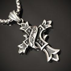 Pandantiv Cruciuliţă / Cruce / Crucifix din INOX - cod PND062