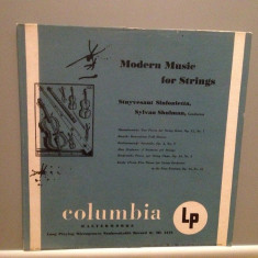 MODERN MUSIC FOR STRINGS: SHOSTAKOVITCH...(1967/Columbia/USA) - VINIL/RAR/Ca Nou - Muzica Clasica
