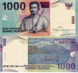 INDONEZIA 1.000 rupiah 2012 UNC!!!