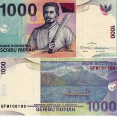 INDONEZIA 1.000 rupiah 2012 UNC!!! - bancnota asia