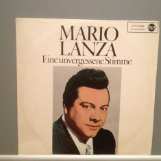 MARIO LANZA - UNFORGETABLE VOICE (1967/Columbia/Germany) - VINIL/RAR/Ca Nou (NM) - Muzica Clasica rca records