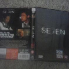 SE7EN (1995) - DVD - Film thriller, Engleza