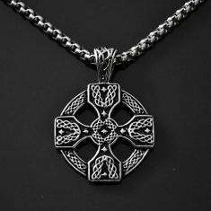 Pandantiv Cruciuliţă, Cruce Celtică din INOX - cod PND004