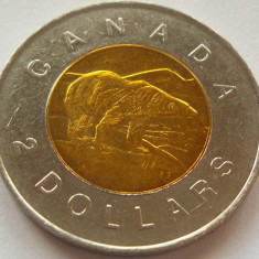 Moneda bimetal 2 Dolari - CANADA, anul 1996  *cod 4299