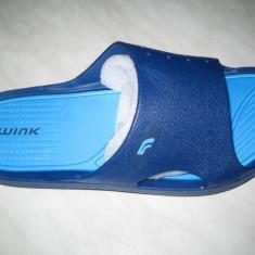 Papuci-slapi unisex WINK;cod ST7053-5(albastru);-6(gri);marime:36-40 - Slapi copii Wink, Culoare: Bleumarin, Marime: 37, 38, 39