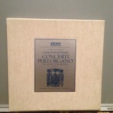 HANDEL - CONCERTI PER L'ORGANO -5LP BOX SET(1967/ARCHIV/RFG) - VINIL/Ca Nou/RAR - Muzica Clasica Altele