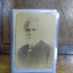 I. C. Bratianu, fotografie originala tip cabinet - Harta Europei