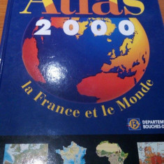 YVES LACOSTE - ATLAS 2000 - LA FRANCE ET LE MONDE