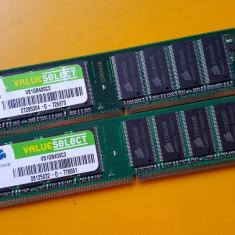 Kit 2GB DDR1 Desktop, 1GBx2, Brand Corsair, PC-3200, 400Mhz - Memorie RAM Corsair, Dual channel