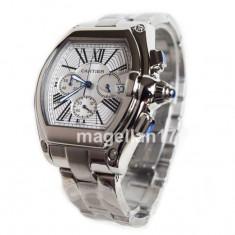 Cartier Roadster ! ! ! Calitate Premium ! - Ceas barbatesc Cartier, Lux - elegant, Quartz, Inox, Cronograf