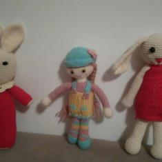 Jucarii Amigurimii pentru copii - Jucarii plus animal friends