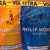 TUTUN PHILIP MORIS 110G albastru/portocaliu