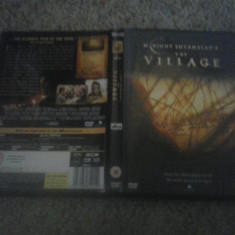 The Village (2004)- DVD - Film thriller, Engleza