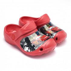 Saboti de plaja Disney Cars rosu - Slapi copii