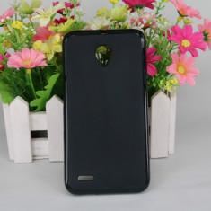 Husa Vodafone Smart Prime 6 TPU Neagra - Husa Telefon Vodafone, Negru, Gel TPU, Fara snur, Carcasa