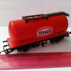 Bnk jc Hornby - vagon cisterna Texaco - Macheta Feroviara Alta, 1:76, OO, Vagoane
