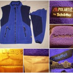 Bluza vesta polar SCHOFFEL (M) ski munte iarna groasa izolatie tura outdoor - Imbracaminte outdoor, Marime: M