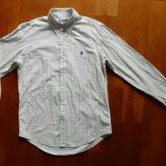Camasa Ralph Lauren Custom Fit; marime M (15 1/2), vezi dimensiuni; ca noua - Camasa barbati, Marime: M, Culoare: Din imagine, Maneca scurta