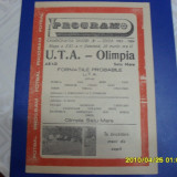 program         UTA  -  Olimpia  SM