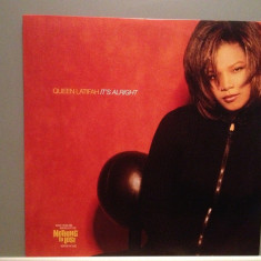 QUEEN LATIFAH - IT'S ALRIGHT(1997/TOMMY BOY /UK) - VINIL MaxiSingle/ca NOU