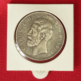 Romania / 5 Lei 1881 / Silver - Moneda Romania, Argint