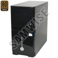 Carcasa Miditower Black + Sursa Delta 300W Certificare 80+ Bronze GARANTIE !!! - Carcasa PC, Mini tower, Sursa inclusa