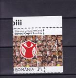 ROMANIA 2010  LP 1867  20  DE ANI  ACTIVITATE  SALVATI COPII  SERIE  MNH, Nestampilat