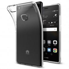 Husa silicon Liquid Crystal Spigen Huawei P9 Lite L05CS20298 - Husa Telefon SPIGEN, Transparent
