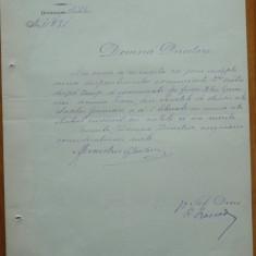 Ministerul Cultelor si Instructiunii, docum. semnat de Grigore Tocilescu, 1883 - Autograf