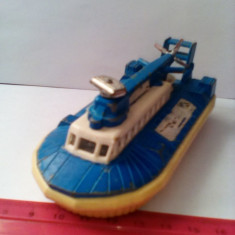 bnk jc Matchbox Super Kings - K-22 - SRNG Hovercraft ( albastru )