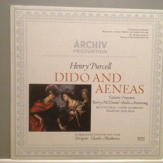 HENRY PURCELL - DIDO AND AENEAS (1967/ARCHIV PROD/GERMANY) - VINIL/RAR/ca NOU! - Muzica Clasica universal records