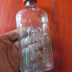 Sticla de apa minerala gradata - Ape minerale - scris in relief cu dop original