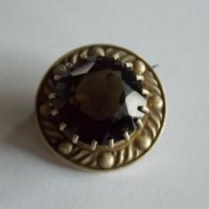 Brosa de argint cu zirconiu -778 - Brosa argint