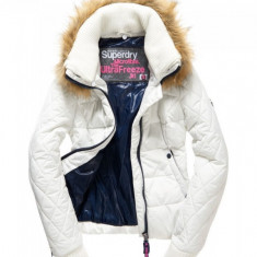 Geaca dama Superdry Ultra Freeze, Marime: 42, Culoare: Din imagine, Microfibra
