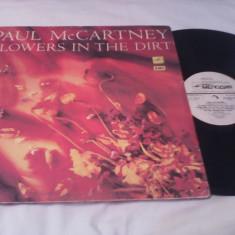 DISC VINIL PAUL McCARTNEY-FLOWERS IN THE DIRT STARE FOARTE BUNA - Muzica Rock