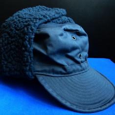 Cascheta/sapca army imblanita pentru iarna (Swedish Army Winter Field Hat/Cap) - Sepca/Palarie