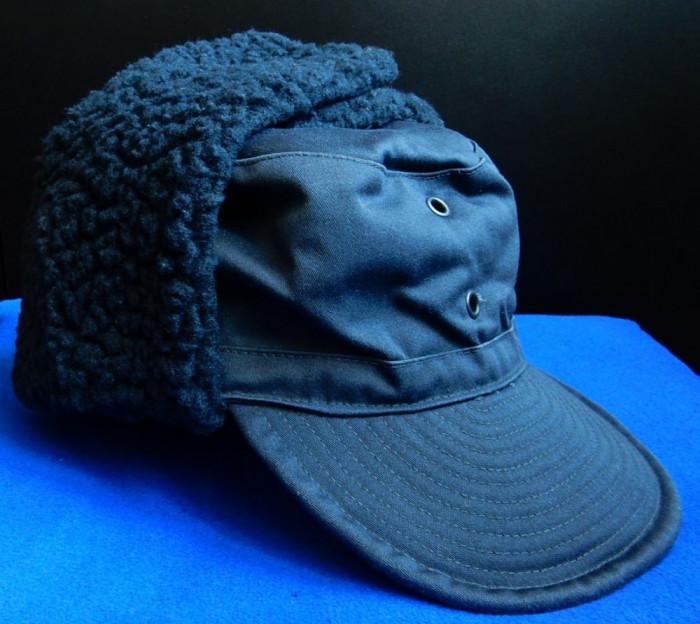 Cascheta/sapca army imblanita pentru iarna (Swedish Army Winter Field Hat/Cap)