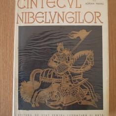 CANTECUL NIBELUNGILOR- repovestiti de Adrian Maniu, cu ilustratii de Demian - Carte mitologie