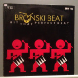 BRONSKI BEAT - HIT THAT PERFECT..(1985/METRONOME/RFG) -VINIL MaxiSingle/ca NOU
