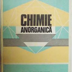 CHIMIE ANORGANICA PENTRU PERFECTIONAREA PROFESORILOR, COORD. IONEL HAIDUS, 1983 - Carte Chimie