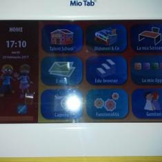 TABLETA PRESCOLARI MIOTAB LISCIANI 3.0 FUNCTIONALA CU BATERIA DEFECTA, 7 inch, 8GB, Wi-Fi, Android