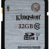 Kingston Card de memorie 32GB, SDHC, Class10, UHS-I, 45MB/s SD10VG2/32GB